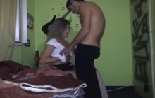 Boyfriend fucking college Latina