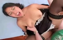 Latina Maid Takes A Break