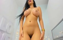 busty curvy latina loves her lovense lush vibrator